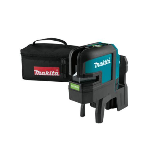 Makita 12V max CXT Lithium-Ion Cordless Self-Leveling Cross-Line/4-Point Green Beam Laser (Tool Only)