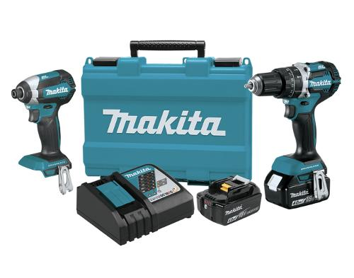 Makita 18V LXT Lithium-Ion Brushless Cordless 2-Pc Combo Kit (4.0Ah)