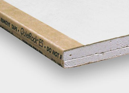 5/8 in x 4 ft x 8 ft QuietRock EZ-Snap Sound Dampening Gypsum Panel