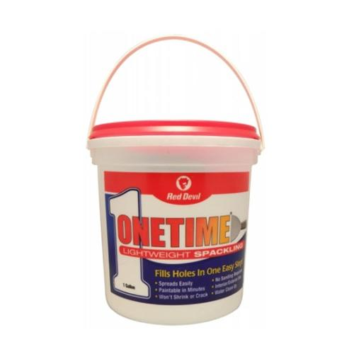 Red Devil Onetime Lightweight Spackling - 1 Gallon Pail