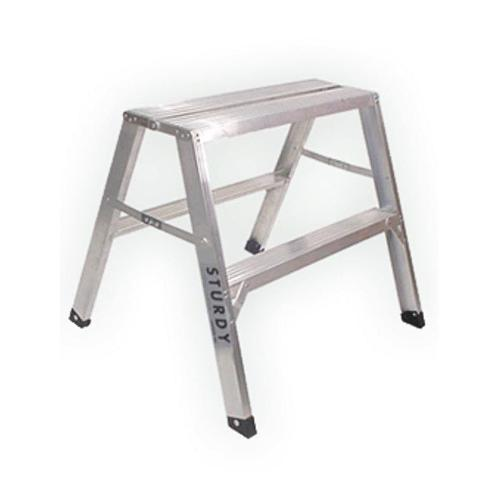 "3 ft Sturdy Ladder 140 Series ""Flat Top"" Aluminum Sawhorse"