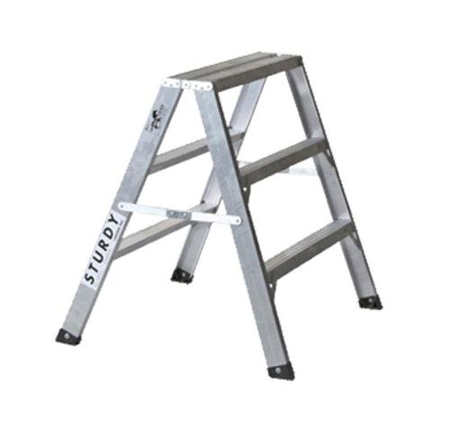 """3 ft Sturdy Ladder 130 Series """"Mustang"""" Aluminum Sawhorse"""