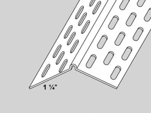 1 1/4 in x 10 ft Trim-Tex Splayed Corner Bead
