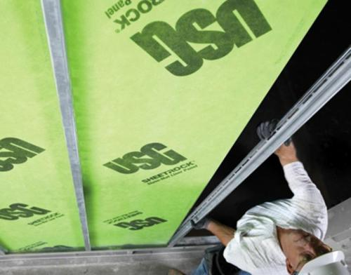 1 in x 2 ft x 8 ft USG Sheetrock Brand Glass-Mat Liner Panel