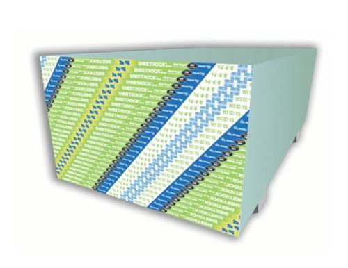 5/8 in x 4 ft x 12 ft USG Sheetrock Brand Mold Tough VHI Firecode X Panels
