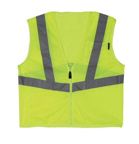 Lift Safety Viz Pro 1 Yellow Safety Vest - 2 XL