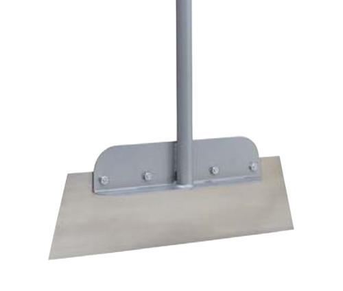 18 in Wal-Board Floor Scraper w/ 60 in Steel Handle
