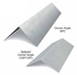 8 in x 8 in x 10 ft x 16 Gauge 54 mil Corner Angle