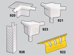 Trim-Tex Off Angle 3 Way 350 Bull Molded Corner w/ 3/8 in Radius