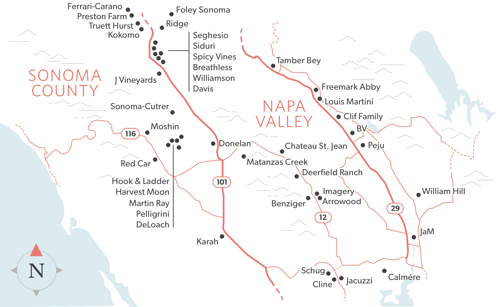 Covet Pass Map