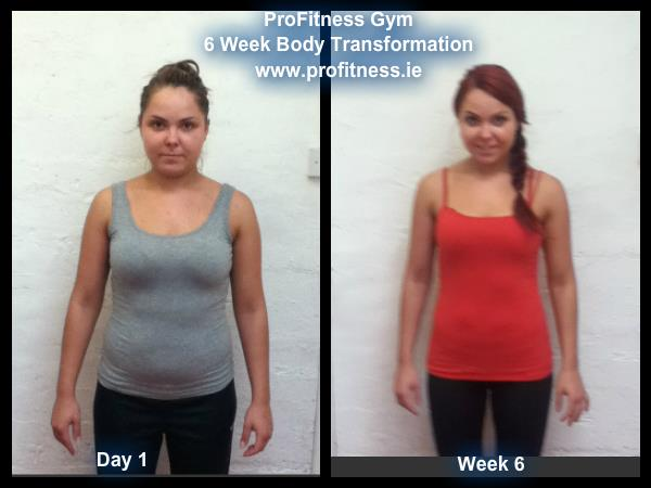 Olga 6 week body transformation profitness gym balbriggan