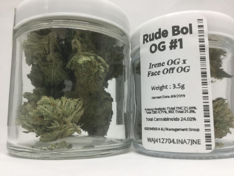 Gypsy Greens - Rude Boi O.G. #1