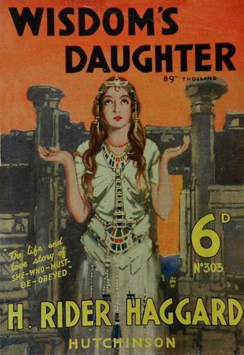 Wisdom'sdaughterhutchinson1923dustjacket