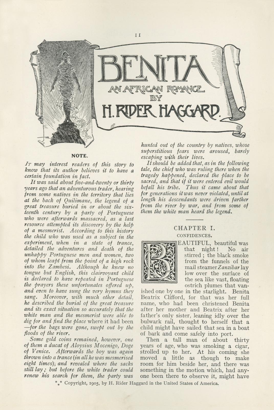 Benitafrontispiececassellsmagazine11
