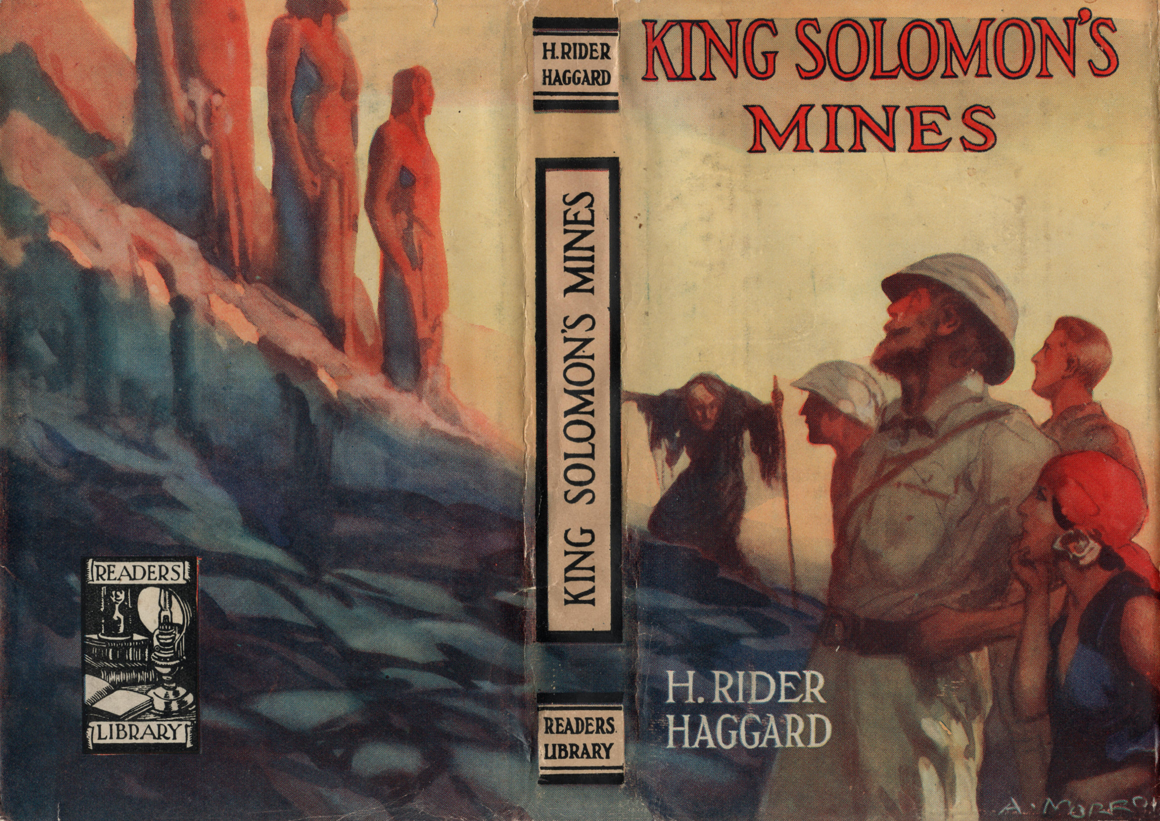 Kingsolomonsminesreaderslibrarydustjacket