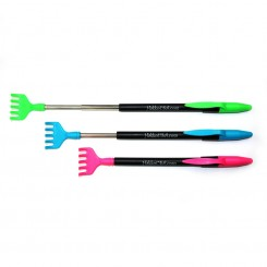 Neon Extending Backscratcher with Pen