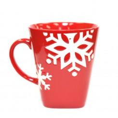 Hakko Holiday Snowflake Mug