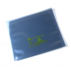 6 x 6 in. Open Top Static Shield Bag