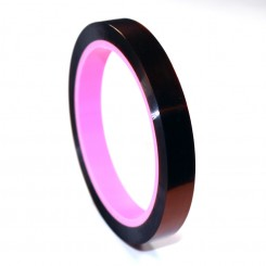2.7 mils x 0.5 in. Low Static Polyimide Tape