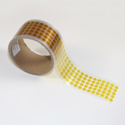 2.5 mils x 0.25 in. Polyimide Discs