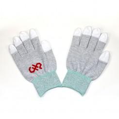 Medium, Finger Tip Coated, ESD Safe Gloves