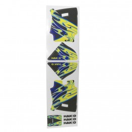 DECAL-Blue/Yellow for FX888D