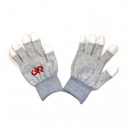 Large, Finger Tip Coated, ESD Safe Gloves