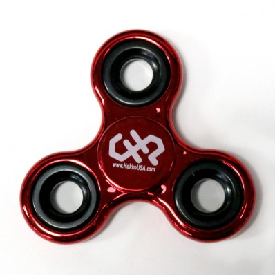 Fidget Spinner, Metallic Red