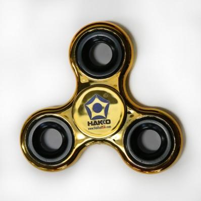 Fidget Spinner, Metallic Gold