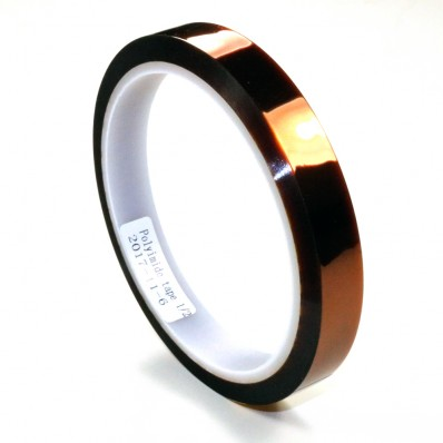 2.5 mils x 0.5 in. Polyimide Tape
