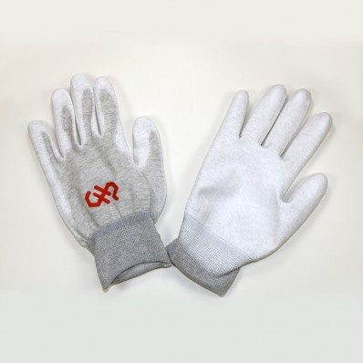 Large, Palm Coated, ESD Safe Gloves