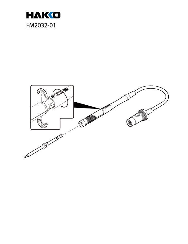 Hakko Fm 2032 Micro Soldering Iron