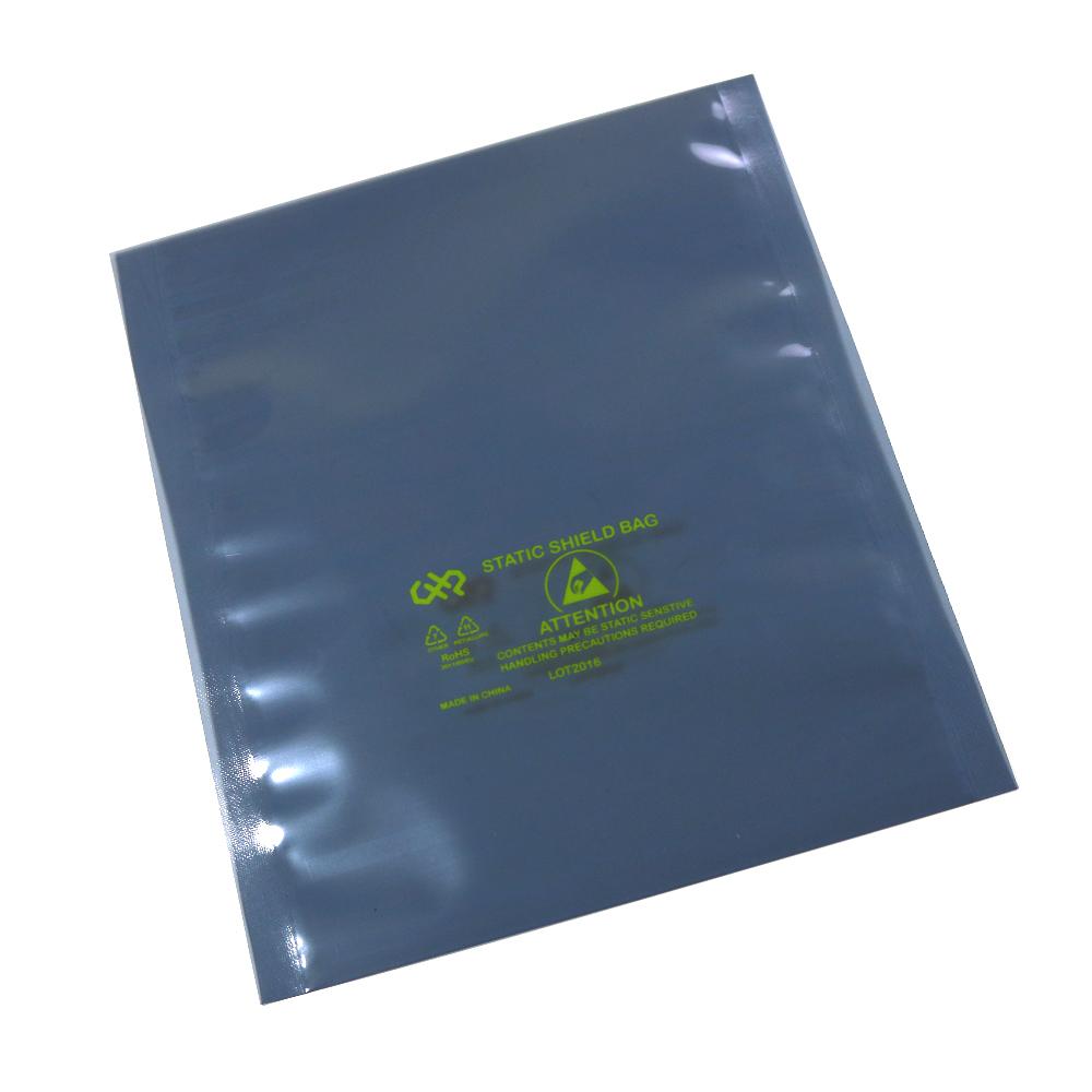 "8/"" x 8/"" Open-Top 50 ESD Anti-Static Shielding Bags"
