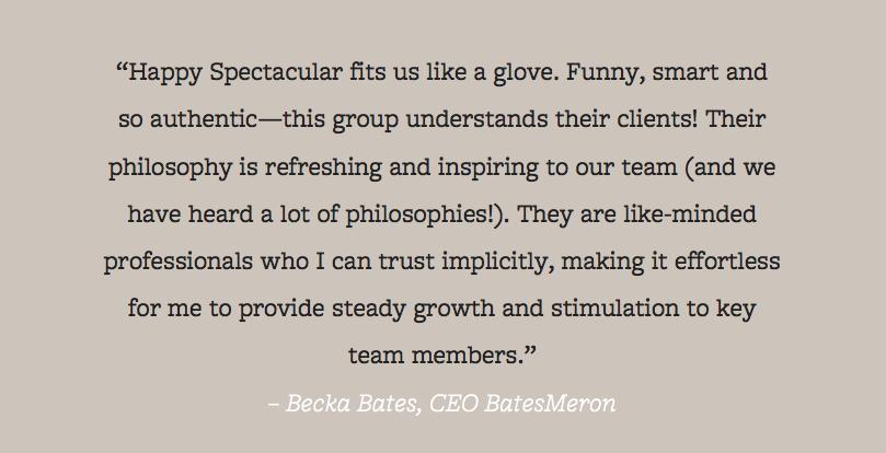 Becka Testimonial
