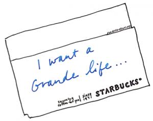 Starbucks Napkin
