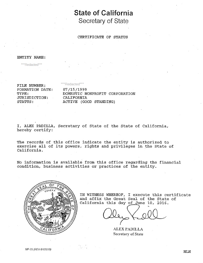 State of delaware division of corporations certificate of good california certificate of good standing certificate of yelopaper Images