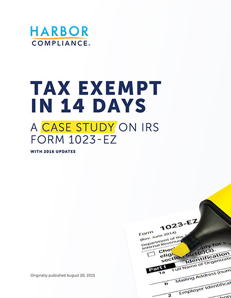 Tax Exempt In 14 Days: A Case Study White Paper