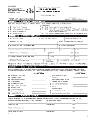 Pa Dor Forms Pa 1000 Instructions 2015 Fill Online Printable ...