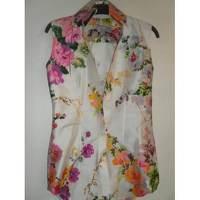 Dolce & Gabbana sleeveless blouse in wild silk