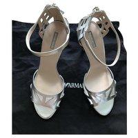 Giorgio Armani, Silver Sandals