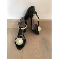 SONIA RYKIEL Black Heeled Sandals