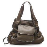 Anagram Leather Tote Bag by Loewe