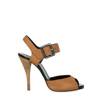 Pierre Hardy Leather Sandals With Tapered Heel