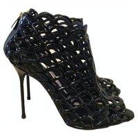 Sergio Rossi Patent Leather Heels