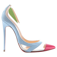 Christian Louboutin Leather Multicolor Pumps