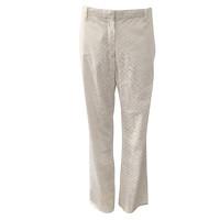 Jil Sander White Jeans With Sailor Cut