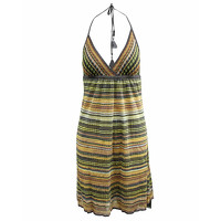 M By Missoni Multicolor Dress With Tie At Neck