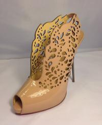 laser cut louboutin pumps
