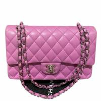 Chanel Double Flap Lavender pink bag