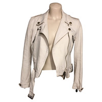 Burberry Jacket With Lapel Collar